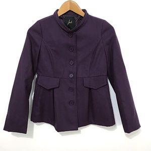 Jack. Purple Pea coat